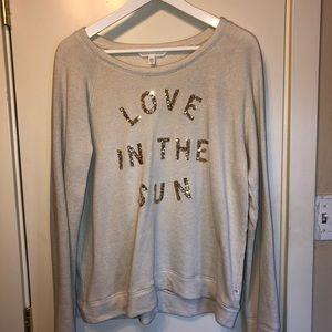 "VIctoria's Secret ""Love in the Sun"" sweatshirt"